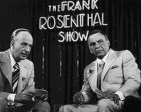 סינטרה (מימין) עם פרנקי רוזנטל איש הקש של המאפיה בלאס וגאס
