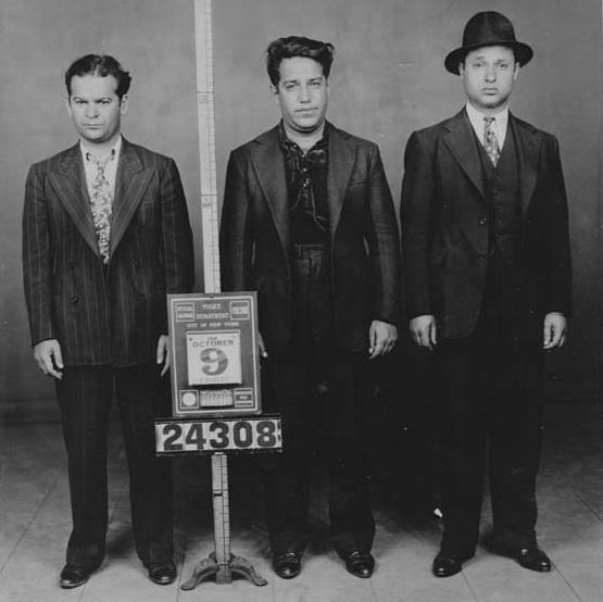 מימין: ארווין שטראוס, סימור מאגון, מרטין גולדסטין